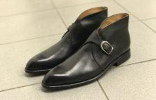 kotníčkové boty s přezkou